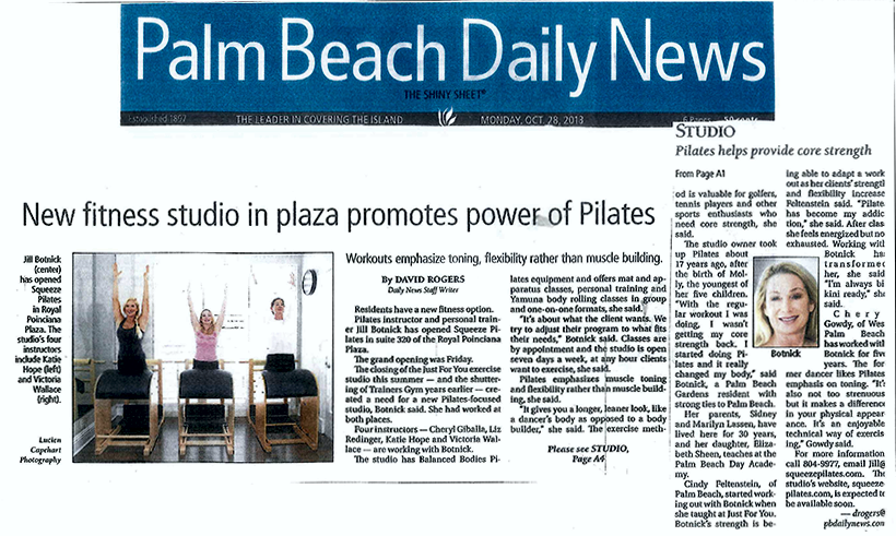 Squeeze Pilates in the news 4